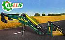 Погрузчик на трактор МТЗ ЮМЗ Т 40 Dellif Base 1600 с крюком под биг бег, фото 9