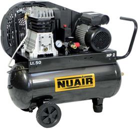 Компрессор поршневой Nuair B2800B/50 CM2 (255 л/мин, 220 В)