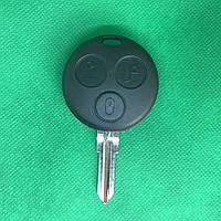 Корпус автоключа Mercedes Smart Fortwo, Roadster, Coupe (Мерседес Смарт) - 3 кнопки