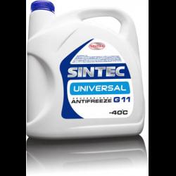 Антифриз SINTEC UNIVERSAL конц G11, (-80),   5л, син