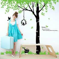 Интерьерная наклейка на стену Дерево AY719