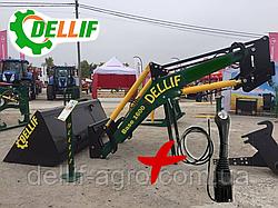 Навантажувач на трактор МТЗ ЮМЗ Т 40 Dellif Base 1600 з джойстиком