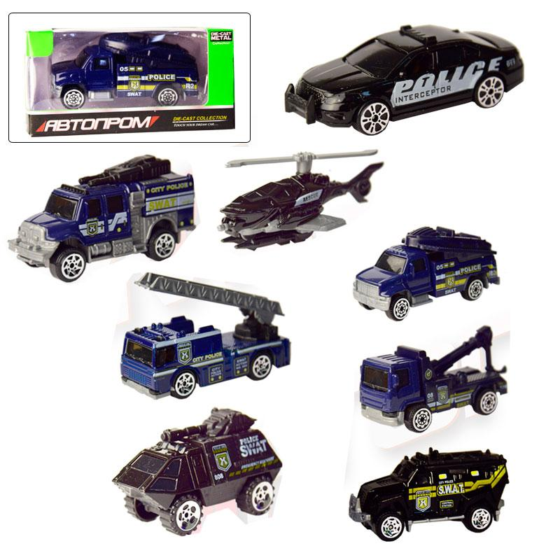 Машинка - металлическая модель Автопром 7629 1:64