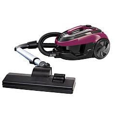 Пылесос для сухой уборки Grunhelm GVC8211E (черно-фиолетовый)