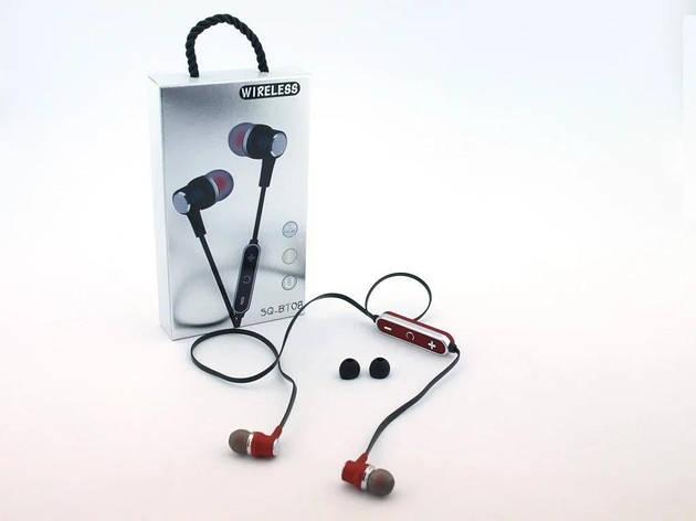 Наушники SQ-BT08 Беспроводные bluetooth наушники с микрофоном, фото 2