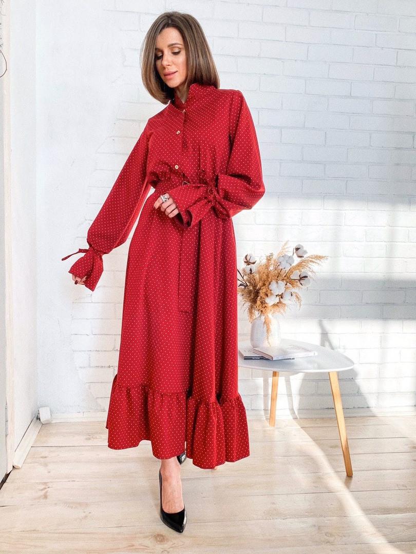 """Платье под резинку, ткань: итальянская костюмка. Размер: 42-46. Разные цвета (1745 """"дольче"""")"""
