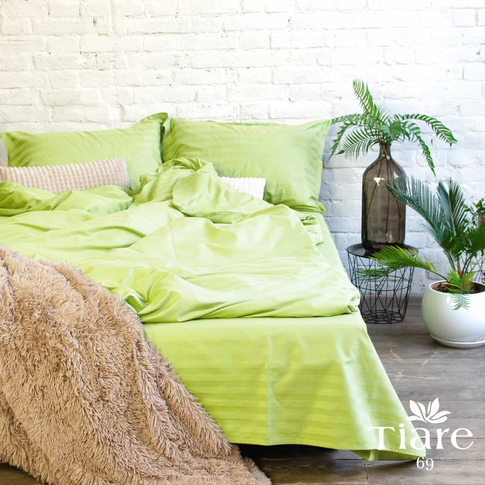Комплект постельного белья Вилюта 69 сатин Stripe