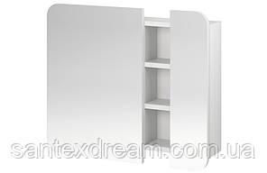 Шкаф зеркальный Cersanit Pure 70x14x60