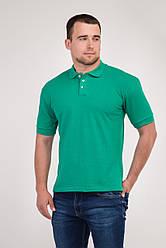 Футболка поло (зеленого кольору)