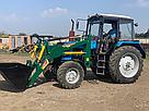 Погрузчик на трактор МТЗ Dellif Light 1200 с крюком под биг бег, фото 6