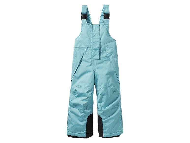 Зимние лыжные штаны комбинезон Lupilu мятные р.98/104см