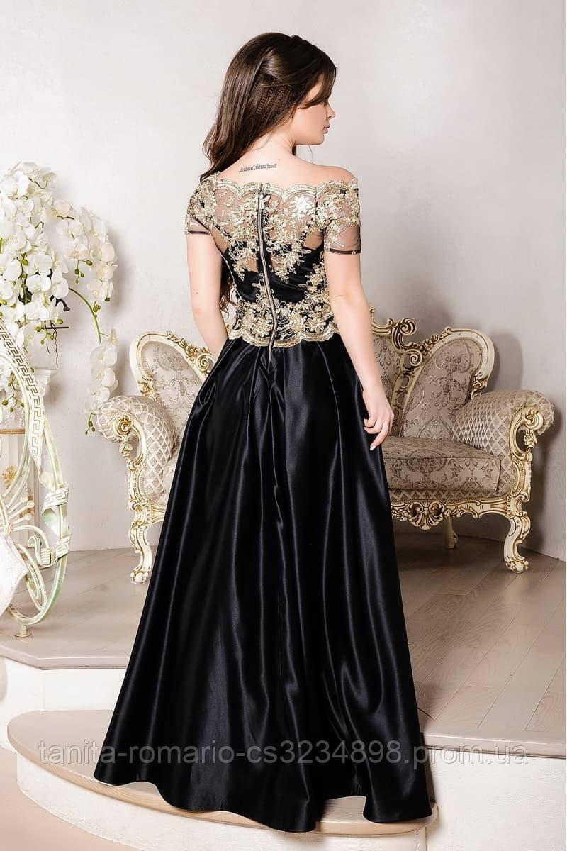 Вечернее платье 8005e Черный M