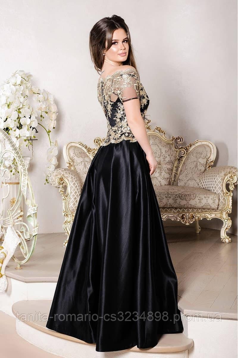 Вечернее платье 8005e Черный L
