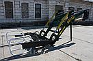 Погрузчик на трактор  МТЗ, ЮМЗ, Т 40 Dellif Ligh 1200 с захватом для тюков, фото 2