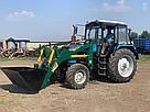 Погрузчик на трактор  МТЗ, ЮМЗ, Т 40 Dellif Ligh 1200 с захватом для тюков, фото 7