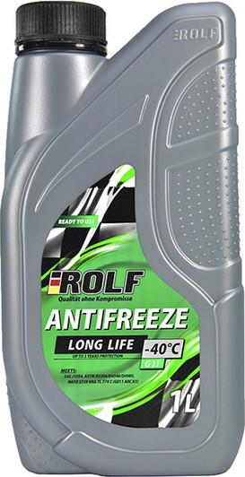 Антифриз ROLF G11 , (-40), 1л, зел.