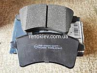 Тормозные колодки передние Renault Kangoo 1.5 dCi,1.6 16V c 2008