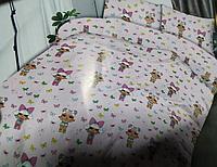 """Детский полуторный комплект постельного белья """"Лол маленька"""""""