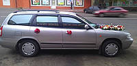 "Дефлекторы боковых стекол Daewoo Nubira Wagon 1997-2003 деф.окон ""CT"""