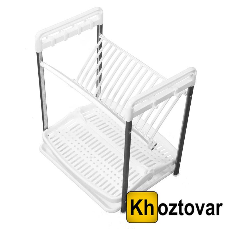 Складная сушилка для посуды Multi Function Folding Dish Rack