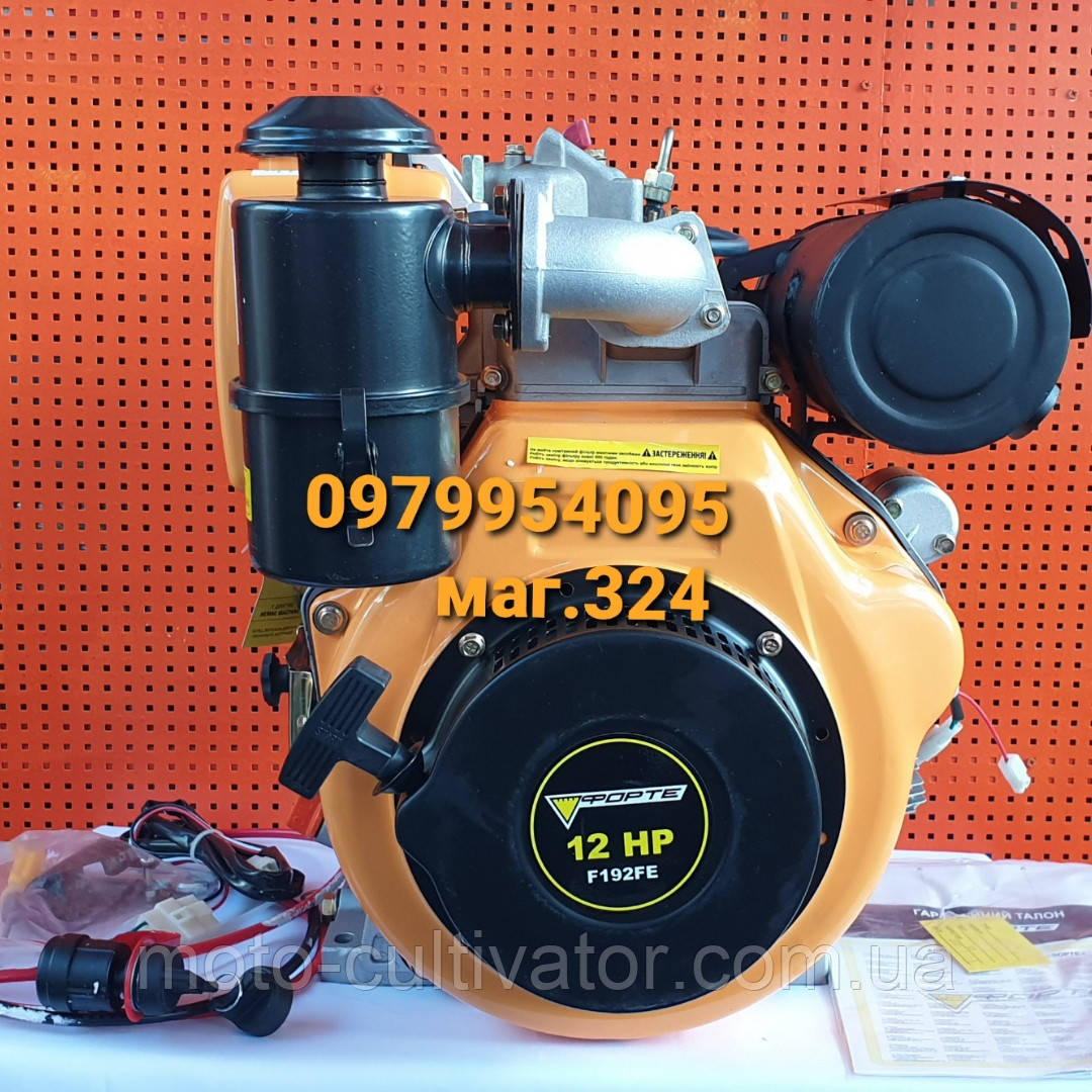 Forte F192FE Двигатель дизельный 12 л.с.