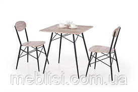 Столовый комплект  KABIR   ( стол+2 кресла) (Halmar)