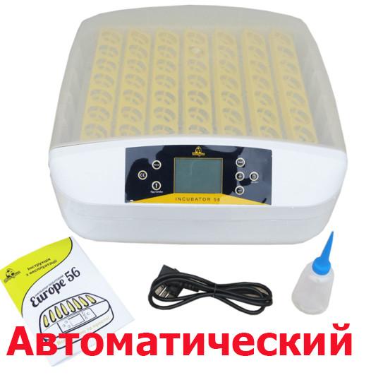 Инкубатор Теплуша Europe-56 S (автоматический)
