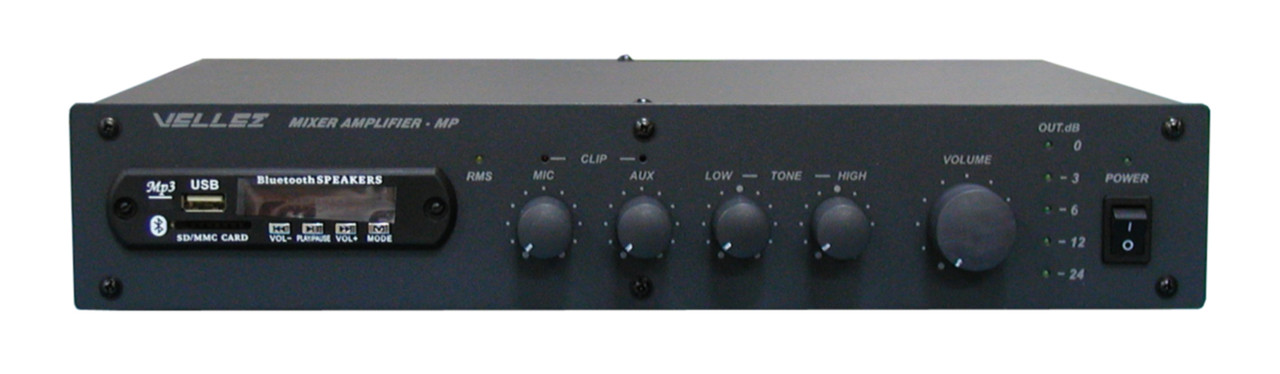 Усилитель-микшер 80ПП024М-МР