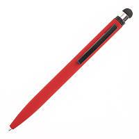 Ручка-стилус металева з покриттям софт-тач