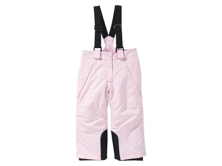 Зимние лыжные штаны розовые Lupilu р.86/92