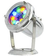 Светильник светодиодный RGB для фонтана 12 В 22 Вт