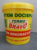 Декоративная фактурная штукатурка (крошка) Termo Bravo 7кг
