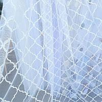 Тюль занавески портьеры шторы ширина 285 см сублимация тюль-1329, фото 1