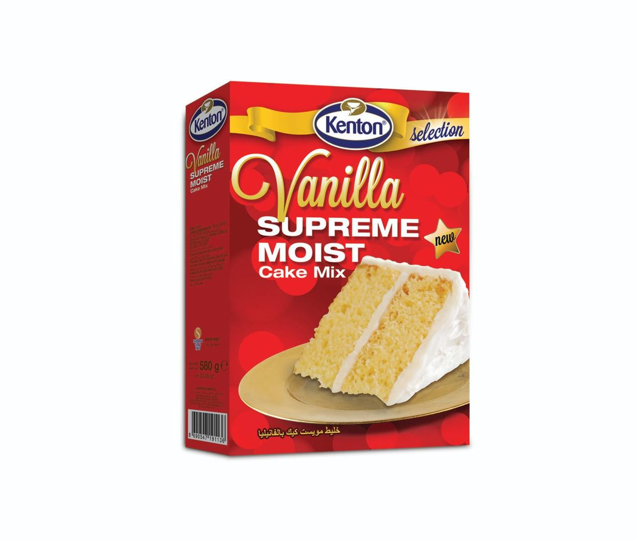Торт Ванильный SUPREME MOIST VANILLA CAKE 500 г. Kenton