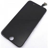 Дисплей модуль (экран) для Apple iPhone 6 с тачскрином (сенсором) черный (LCD)