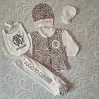 Набор Roberto Cavalli  для новорожденного, 5 предметов, фото 1