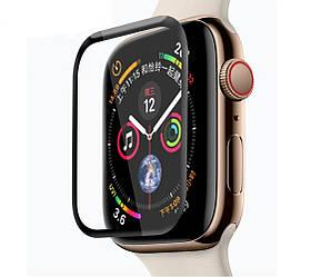 Защитное стекло для Apple Watch 3D Full Glue 40 mm (тех.пак)