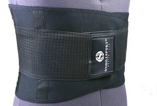 Пояс-корсет для поддержки спины (черный), фото 2