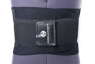 Пояс-корсет для поддержки спины (черный), фото 3