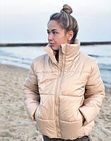 Курточка женская весенняя чёрная, красная, горчица, белая, беж бежевый, 44-46