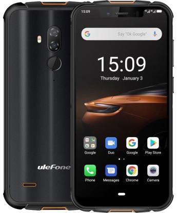 Смартфон UleFone Armor 5S 4/64Gb black, 5000mAh, 13+2/8Мп, 2sim, экран 5.85'' IPS, 8 ядра, 4G (LTE)