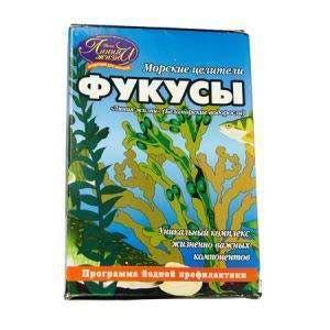 Фукус Беломорские водоросли Инвит 100 г (4603164000143)