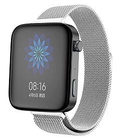 Міланський сітчастий ремінець Primolux для годин Xiaomi Mi Watch - Silver