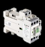 Контактор магнитный пускатель с катушкой управления на постоянный тока / напряжения 24 / 48 / 110 V DC 32А 15 кВт (50А)