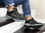 Чоловічі кросівки Columbia Montrail (темно-зелені), фото 2