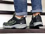 Чоловічі кросівки Columbia Montrail (темно-зелені), фото 3
