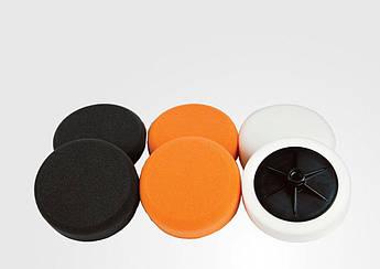 Круг полировальный с системой Velcro Chamaeleon, Оранжевый
