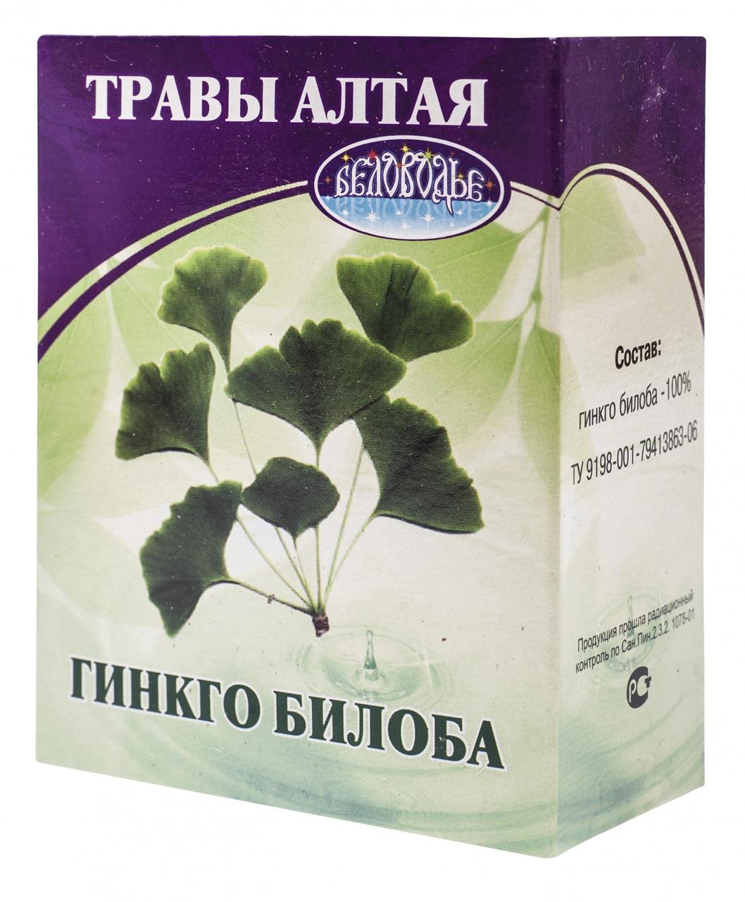 Гинкго билоба Беловодье 50 г (6260)