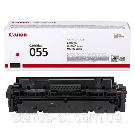 Заправка картриджа Canon 055 magenta для друку i-sensys MF742Cdw, MF744Cdw, MF746Cx, LBP663Cdw, LBP664Cx, фото 2