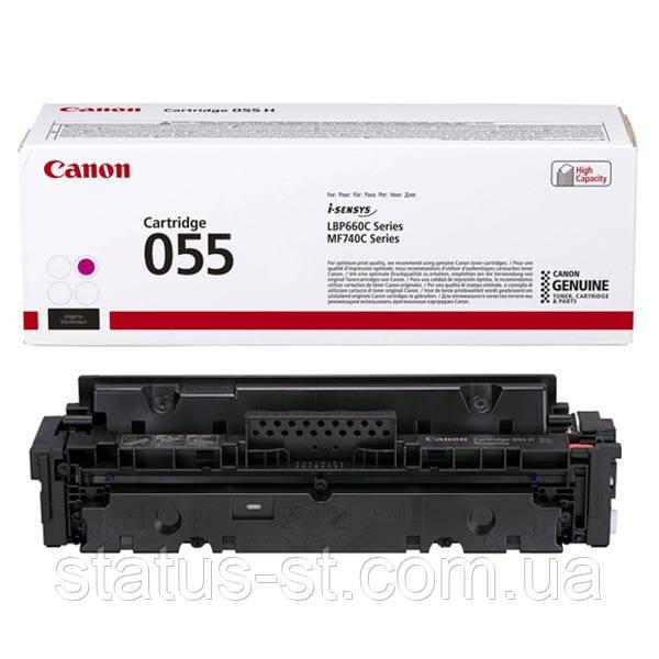 Заправка картриджа Canon 055 magenta для друку i-sensys MF742Cdw, MF744Cdw, MF746Cx, LBP663Cdw, LBP664Cx
